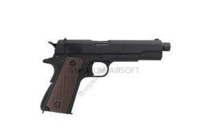 PISTOLET PNEVM. KJW COLT M1911A1 GBB GAS tchernyy metall stvol s rezboy 1911 TBC.GAS  1 300x200 - Пистолет KJW COLT M1911A1 GBB, GAS 1911-TBC.GAS