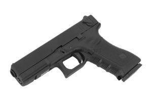 Пистолет KJW GLOCK G18 GBB GAS, авт., мет. слайд, модель - KP-18-MS-BK