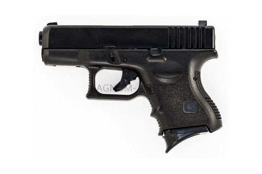 Пистолет KJW GLOCK G27 GBB, черный, мет. слайд, модель - KJW-G27-MS GP610