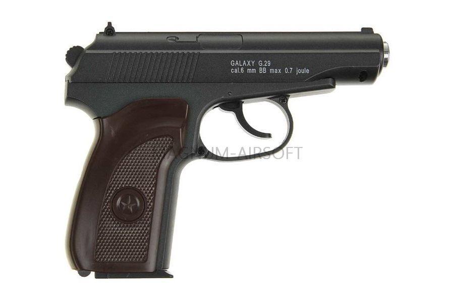 PISTOLET PNEVM. Makarov Galaxy G.29 SPRING 2 1 900x600 - Пистолет Galaxy ПМ Макаров G.29 SPRING