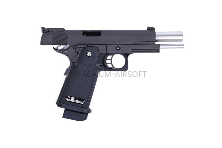 ПИСТОЛЕТ ПНЕВМ. WE COLT M1911 Hi-Capa 5.1., металл, возм. СО2, WE-H001