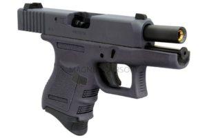 Пистолет WE GLOCK-26 gen3, металл слайд, автомат, WE-G005A-BK