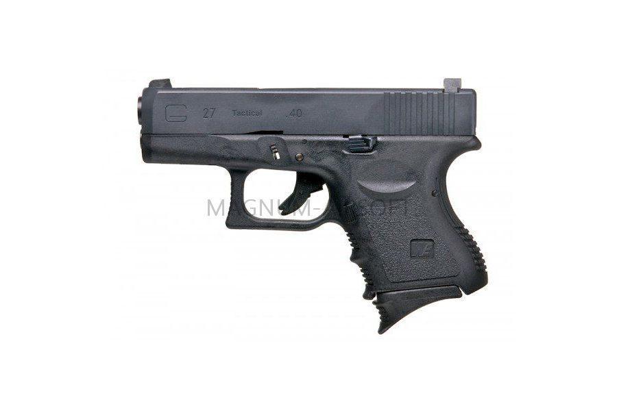 Пистолет WE GLOCK-27 gen3, металл слайд, WE-G006A-BK / GP623