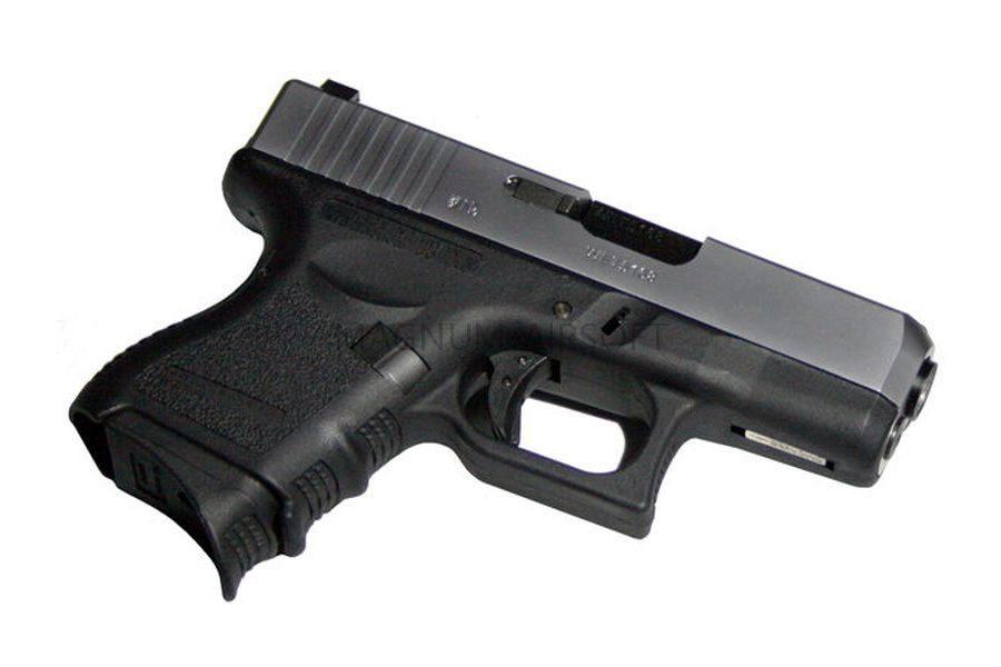 Пистолет WE GLOCK-27 gen3, металл слайд, хромированный,WE-G006A-SV