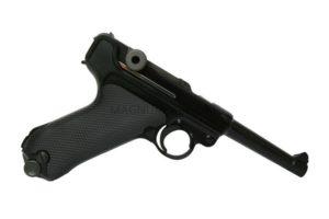 """Пистолет WE P-08 4"""", металл, черный WE-P001 / GP401"""