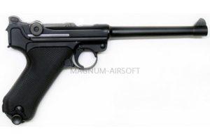 """ПИСТОЛЕТ WE P-08 6"""", металл, черный WE-P002 / GP402"""