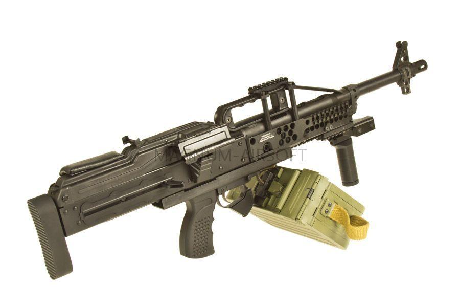 Страйкбольный пулемет (Raptor) ПКП Печенег BULLPUP (PKP BULLPUP AEG)