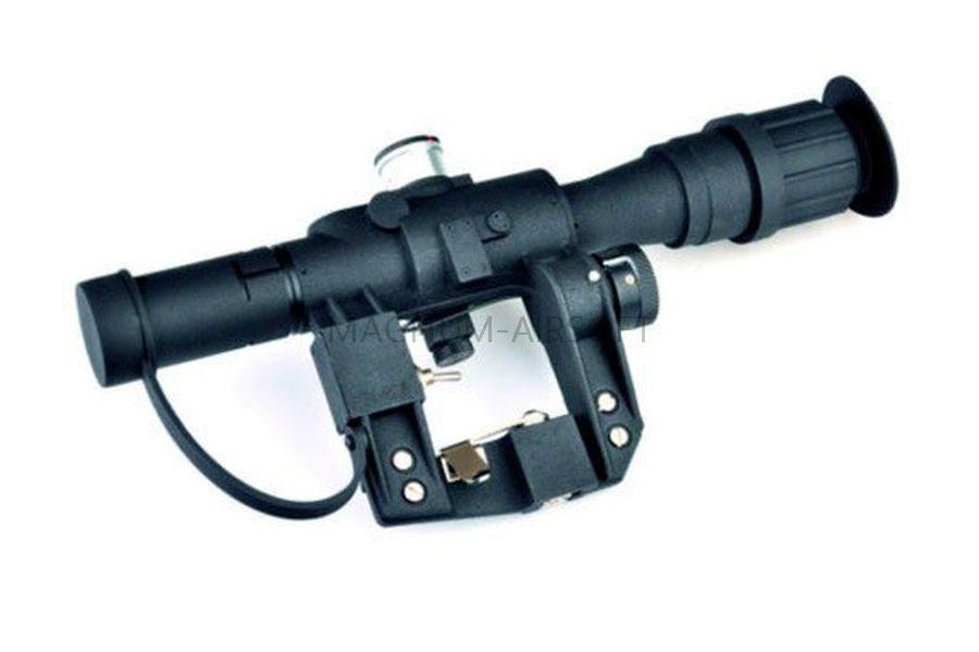 ПРИЦЕЛ ОПТИЧЕСКИЙ 4x26 PSO-1 SVD replica с подсветкой AS-SP0133