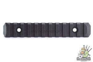PTS Enhanced Rail Section 11 Slots - Black