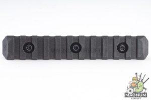 PTS Enhanced Rail Section (M-LOK) 11 Slots - Black