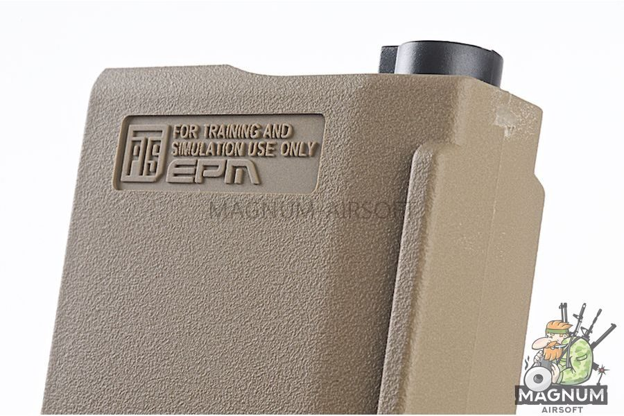 PTS 30 / 120rds Enhanced Polymer Magazine (EPM) for Tokyo Marui Recoil Stock Next Generation M4 / SCAR Series - DE