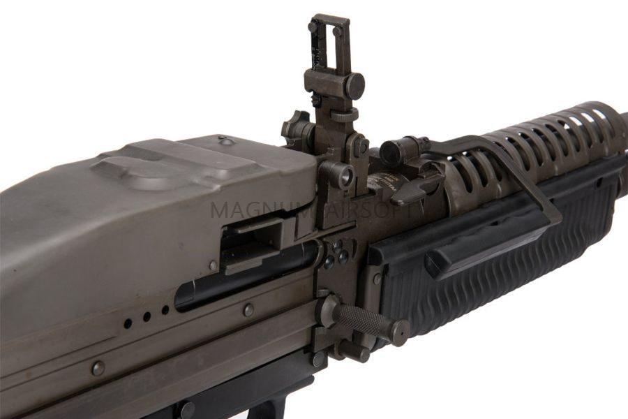 ПУЛЕМЕТ M60VN AEG, A&K, металл, короб