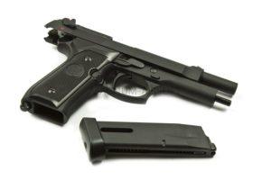 Пистолет KJW M9 GBB, CO2, черный, металл, модель - M9.CO2, CP305