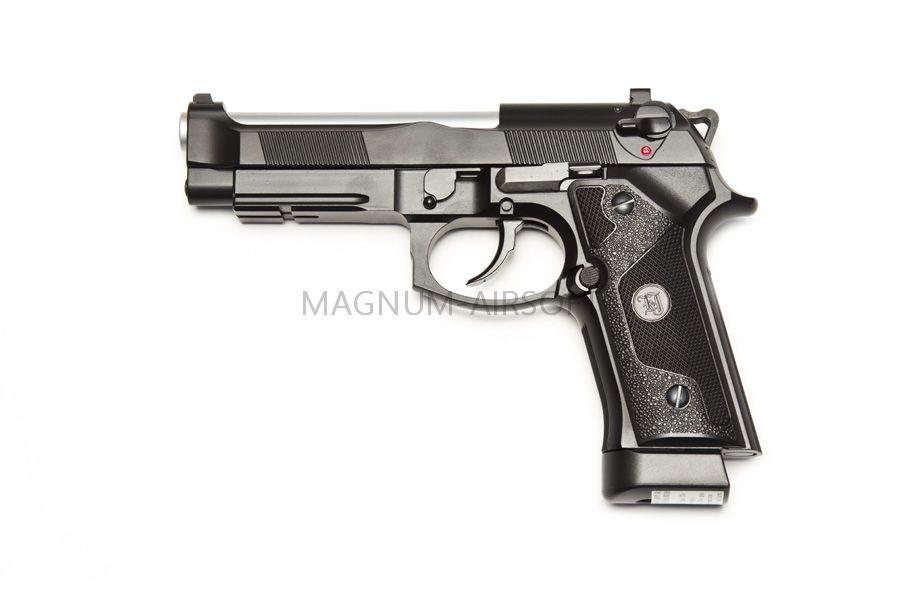 Пистолет KJW Beretta M9A1 Chrome CO2 GBB (CP314 KJW CO2)