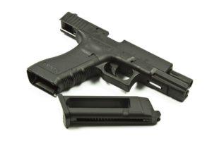 Пистолет KJW GLOCK G17 GBB CO2, мет. слайд, модель - KP-17-MS.CO2-BK