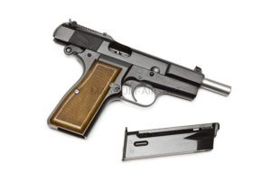 Пистолет WE Browning Hi-Power M1935 GGBB (GP424)