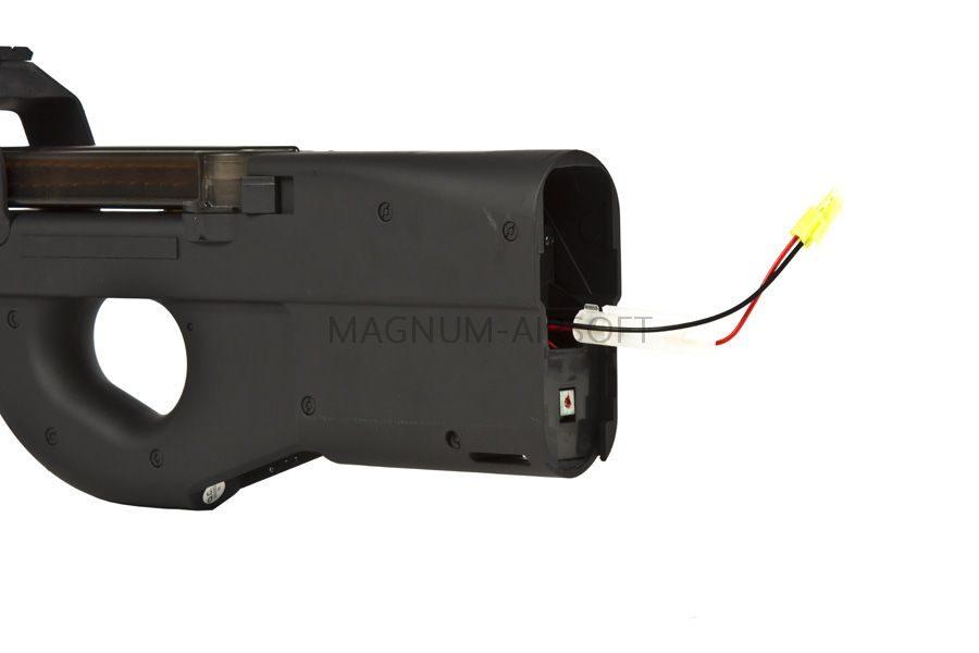 Автомат Cyma FN P90 с глушителем (CM060B)