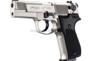Пневматический пистолет Walther CP 88 4 nikel к.4,5