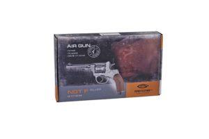 Пневматический револьвер Gletcher NGT F Silver к.4,5