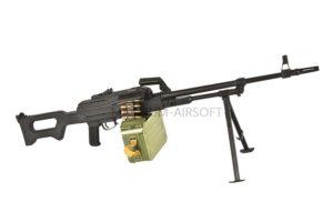 Пулемет A&K ПКМ с пластиковой фурнитурой (PKM)