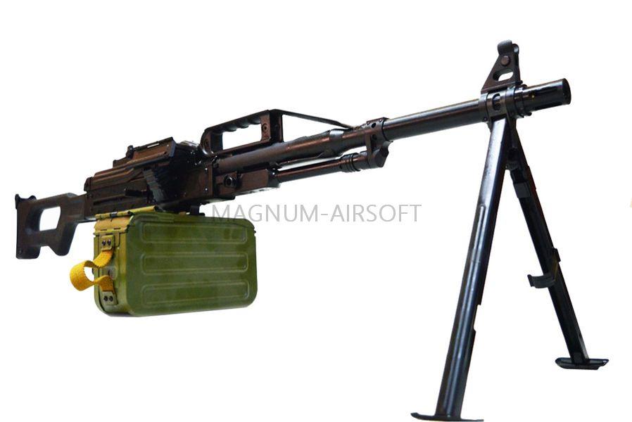 Страйкбольный пулемет (Raptor) ПКП (PKP AEG)
