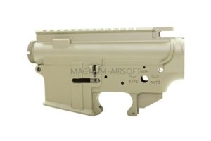 RA M4 TAN Forged Receiver For WE M4 GBB