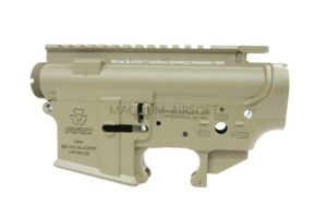 RA M4 TAN Forged Receiver For WE M4 GBB (AAC marking)
