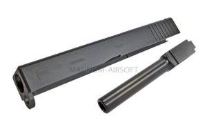 RA New CNC Steel Slide & Outer barrel set for WE G17 (2015)