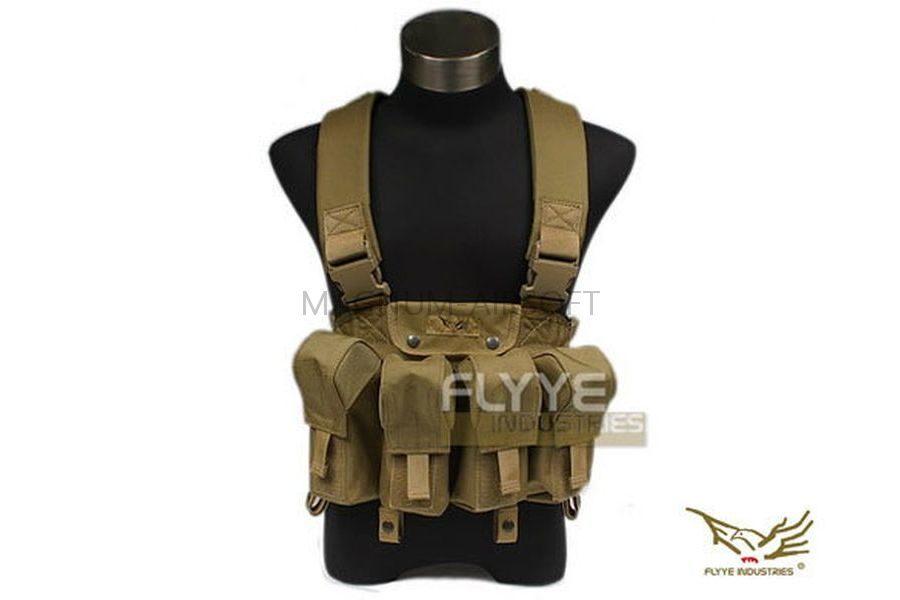 РАЗГРУЗКА НАГРУДНАЯ LBT AK Tactical Chest Vest(Khaki) код FY-VT-C006-KH