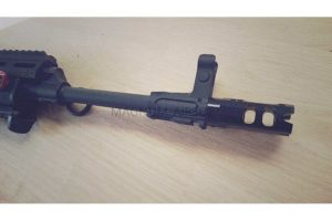 RETRO ARMS CNC muzzle break type A ­ CNC muzzle break type A black ­ 14mm Positive
