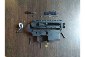 RETRO ARMS CNC receiver AR15 - B