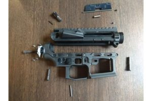 RETRO ARMS CNC receiver AR15 (Skeletonized) - B