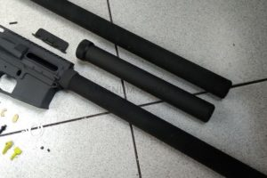 RETRO ARMS Handguard TUBERA AR15 - A 500 mm