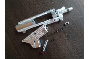 RETRO ARMS сплитовый гирбокс 9 мм генерции 4 с интегрируемой камерой хоп ап