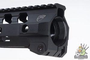 RWA Fortis SWITCH 556 Rail System - 13 inch MLOK Black for M4 AEG & GBB Series