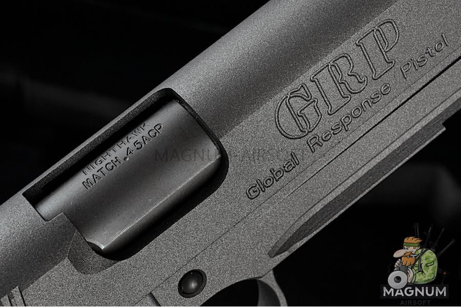RWA Nighthawk GRP Recon - CNC Steel  Tungsten Grey Cerakote Limited Edition