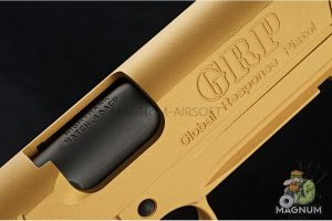 RWA Nighthawk GRP Recon - CNC Steel Gold Cerakote Limited Edition