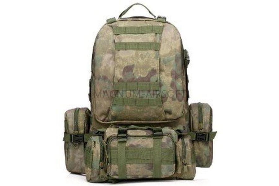РЮКЗАК 50L Molle Assault Tactical Light Version 55x35x25cm AS-BS0051AF