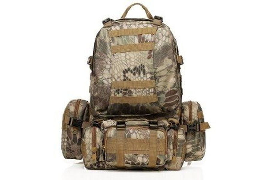 РЮКЗАК 50L Molle Assault Tactical Light Version 55x35x25cm AS-BS0051HLD
