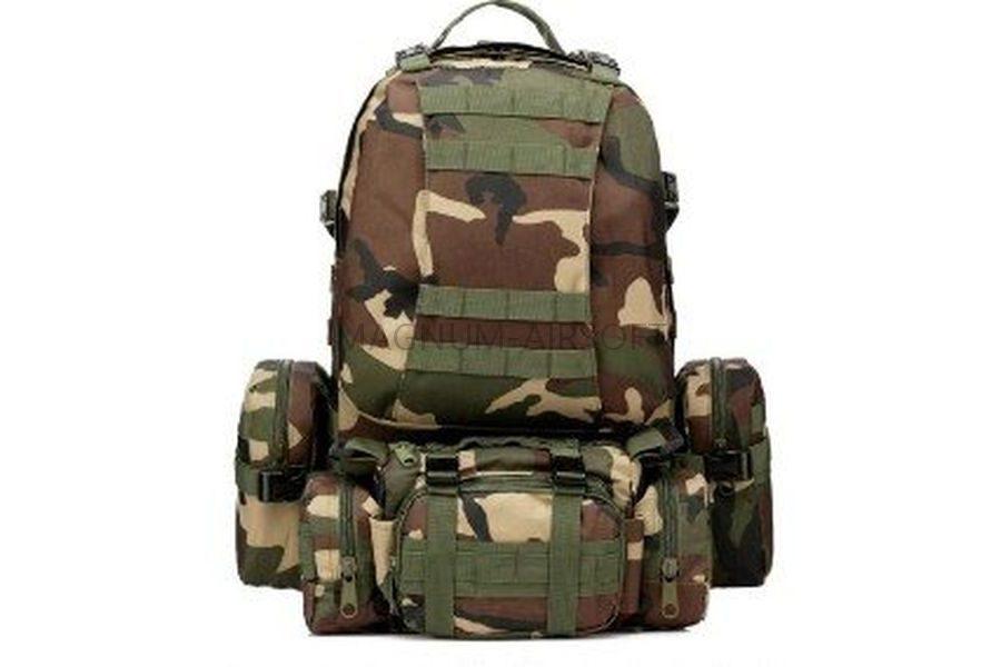 РЮКЗАК 50L Molle Assault Tactical Light Version 55x35x25cm AS-BS0051W
