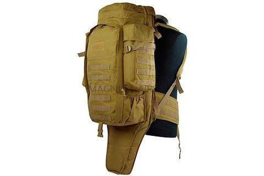 RYUKZAK Tactical Full Gear Rifle Combo 62kh25kh16cm 90kh20kh16cm AS BS0006T 2 900x600 - Рюкзак тактический под оружие (90х20х16cm) AS-BS0006T - Tan