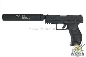 Umarex Walther PPQ M2 Navy DX Pistol - BK (Asia Edition) (by VFC)