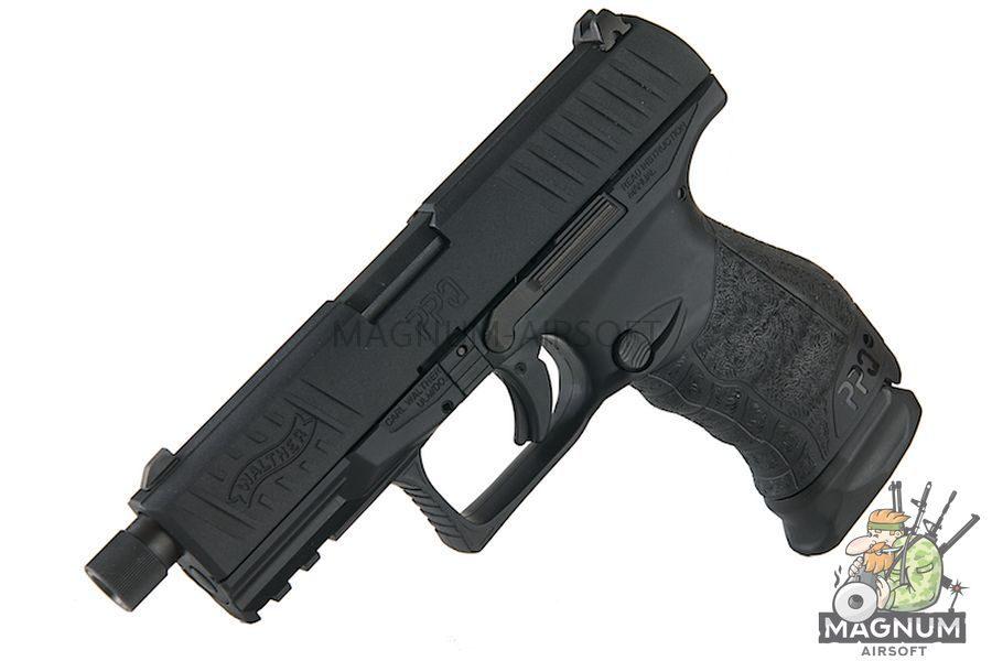 Umarex Walther PPQ M2 Navy DX Pistol - BK (Asia Edition) (by VFC)