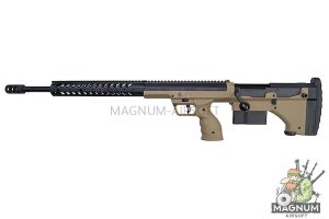 Silverback SRS A1 (26 inches) Pull Bolt Long Barrel Ver. Licensed by Desert Tech - FDE (Left Hand)