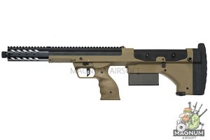 Silverback SRS A1 Covert (16 inches) Pull Bolt Short Ver. Licensed by Desert Tech - FDE