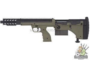 Silverback SRS A1 Covert (16 inches) Pull Bolt Short Ver. Licensed by Desert Tech - OD (Left Hand)
