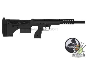 Silverback SRS A1 Sport (20 inches)  Push Bolt Licensed by Desert Tech - BK (Left Hand)