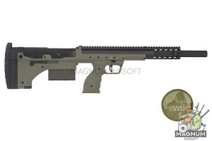 Silverback SRS A1 Sport (20 inches)  Pull Bolt Licensed by Desert Tech - OD (Left Hand)