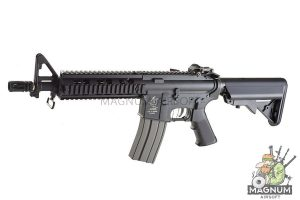 ARES M4 CQB with Metal Rail Nylon Fiber+ Al.Alloy Version - BK