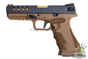 APS Shark B Semi / Auto Gas Pistol - DE